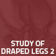Hover Thumbnail for Study of Draped Legs 2