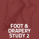 Hover Thumbnail for Foot & Drapery study 2
