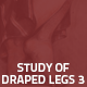 Hover Thumbnail for Study of Draped Legs 3