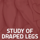 Hover Thumbnail for Study of Draped Legs