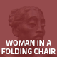 Hover Thumbnail for Woman in a Folding Chair